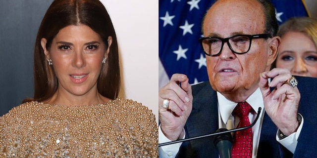 Marisa Tomei seemingly responded to Rudy Giuliani using 'My Cousin Vinny' reference at a press conference.