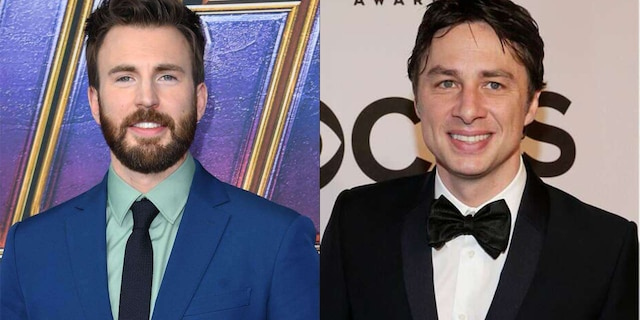 Chris Evans and Zach Braff will 'never forget' those who supported President Trump.
