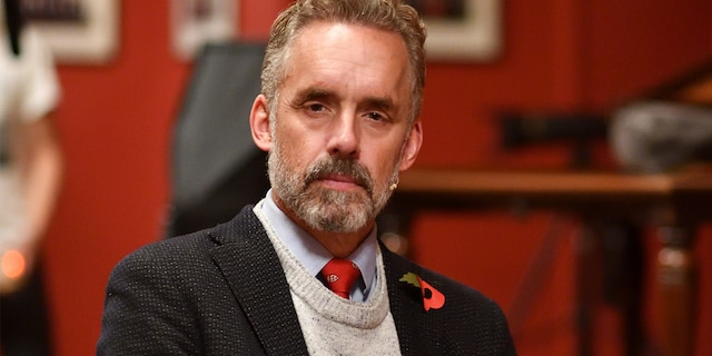 CAMBRIDGE, CAMBRIDGESHIRE - NOVEMBER 02: Portrait of Jordan Peterson at The Cambridge Union on November 02, 2018 in Cambridge, Cambridgeshire. (Photo by Chris Williamson/Getty Images)