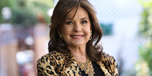 "Actress Dawn Wells visits Hallmark Channel's ""Home & Family"" at Universal Studios Hollywood on Sept. 30, 2019, in Universal City, Calif."
