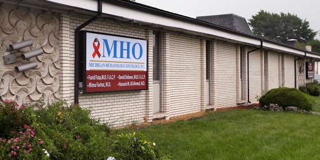 Aug. 12, 2013: This file photo shows the office of Dr. Farid Fata in Oak Park, Mich.