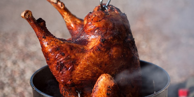 The National Fire Protection Association extends a word of caution toambitious home chefs hoping to deep fry a turkey.