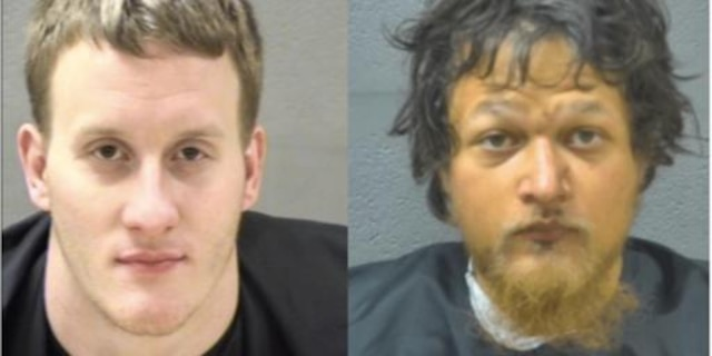 Suspects Alan Mould, left, and James Franklin. (Blue Ridge Regional Jail)