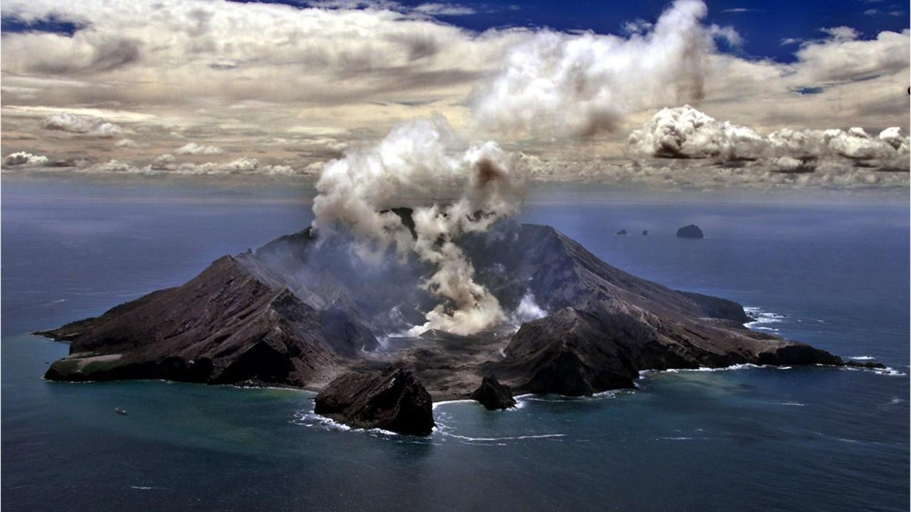 American couple on honeymoon seriously injured in New Zealand volcano eruption