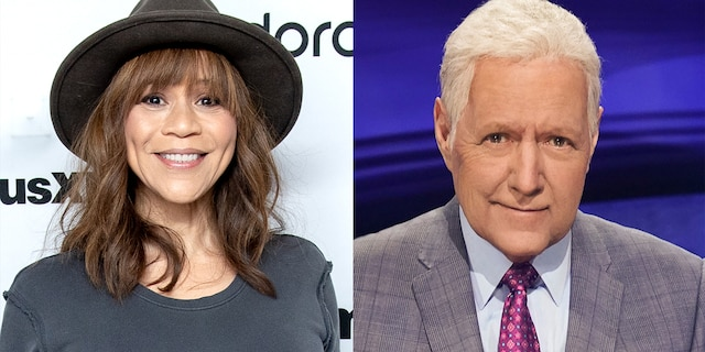 """Rosie Perez starred in """"White Men Can't Jump,"""" which featured a cameo from Alex Trebek."""