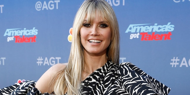"""AMERICA'S GOT TALENT -- """"Auditions"""" -- Pictured: Heidi Klum -- (Photo by: Trae Patton/NBC/NBCU Photo Bank via Getty Images)"""