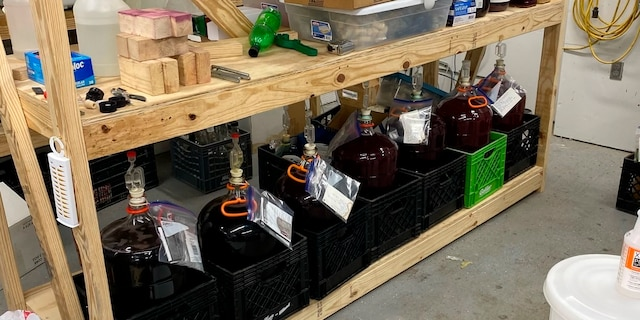 """The illegal winery """"appeared to be in operation for a long period of time,"""" officials said in a statement. (The DeKalb County Sheriff's Office via AP)"""