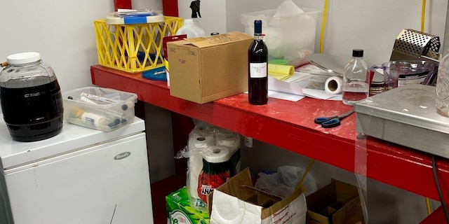 After police discovered the illegal winery, a supervisor at the plant was suspended without pay while the police investigate. (The DeKalb County Sheriff's Office via AP)