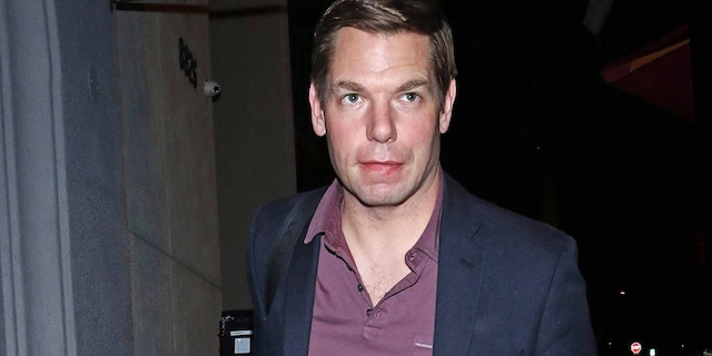 Eric Swalwell is seen on February 8, 2020 in Los Angeles. (Photo by OGUT/Star Max/GC Images)