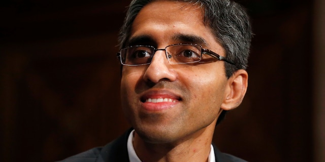 FILE - In this Feb. 4, 2014, photo, then U.S. Surgeon General appointee Dr. Vivek Murthy appears on Capitol Hill in Washington. Murthy has been named as co-chair by President-elect Joe Biden to his COVID-19 advisory board.