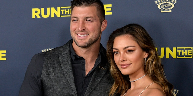 Tim Tebow and Demi-Leigh Nel-Peters wed in January at theLa Paris Estatein Cape Town, South Africa.