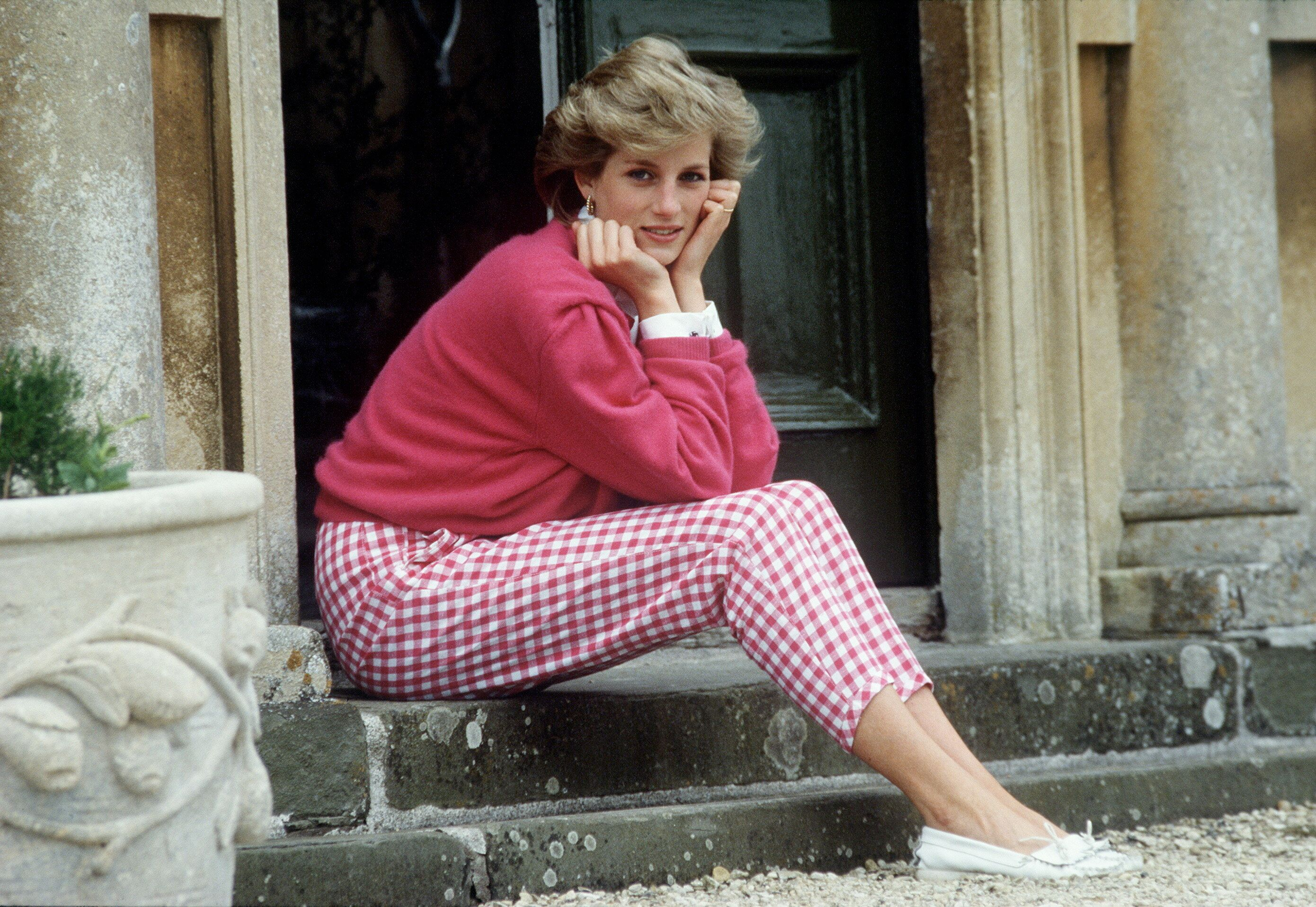 Princess Diana picture atHighgrove House in July 1986.