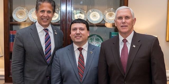 """Xavier DeGroat previously had a meeting with Vice President Mike Pence, through the help of former Rep. Mike Bishop, R-Mich., to talk about autism awareness. Pence tweeted about the April 2018 meeting afterward, saying """"Xavier is a courageous advocate for autism awareness and all Americans with disabilities. Great job Xavier!"""""""