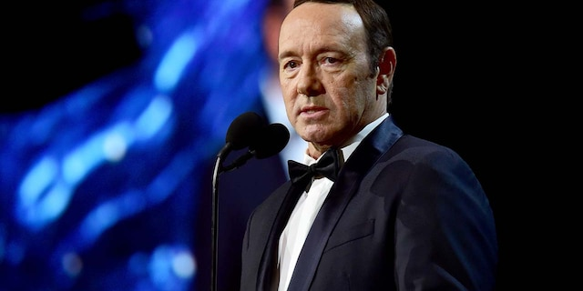 Kevin Spacey has shared a Christmas-themed message about mental health on YouTube. (Photo by Frazer Harrison/BAFTA LA/Getty Images for BAFTA LA)