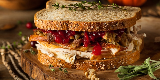 Take a nod from across the pond with Tesco's easy recipe for a French dip-style turkey sandwich.