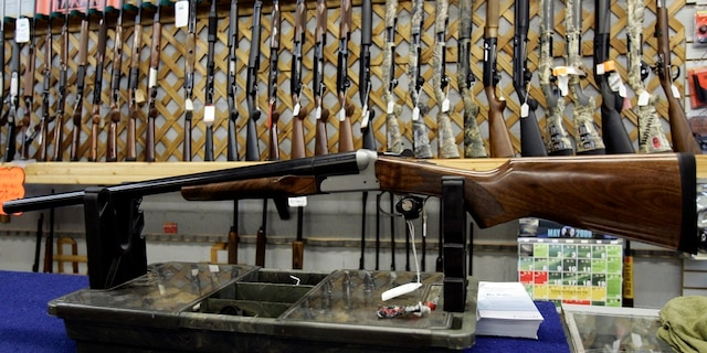 The FBI conducted 2.9 million background checks related to firearms purchases in April, making it one of the busiest months for such checks. (Jonathan Hayward/The Canadian Press via AP)