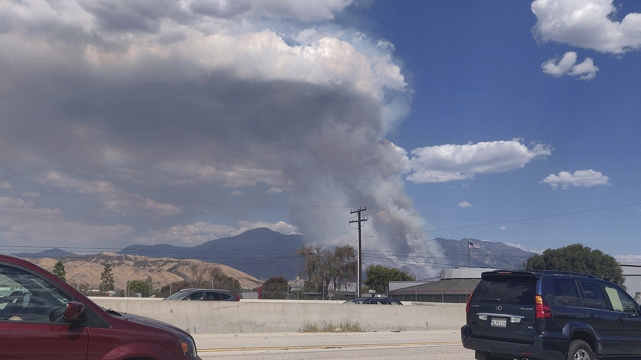 El Dorado fire in California caused by pyrotechnic at gender reveal party