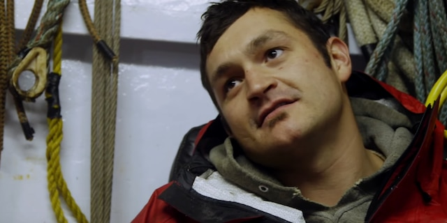 Nick McGlashan in a scene from 'Deadliest Catch.'