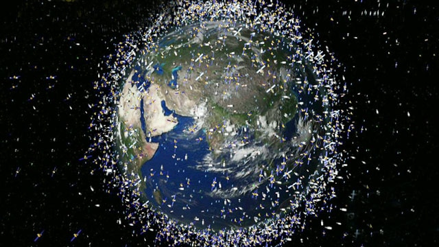 Space junk threat real, growing