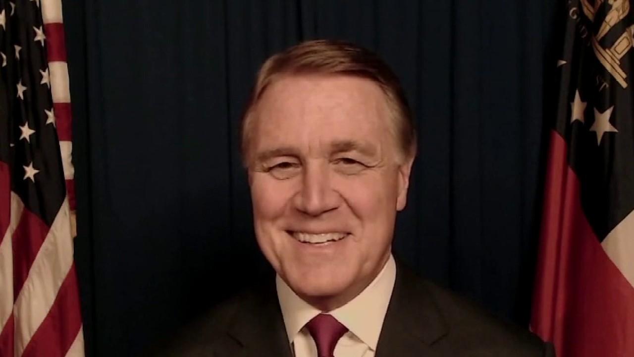 Sen. Perdue doubles down on call for Raffensperger resignation