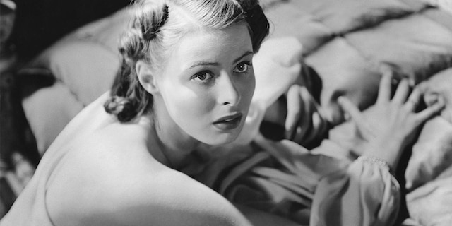 """Actress Ingrid Bergman in a scene from the movie """"On the Sunny Side."""""""