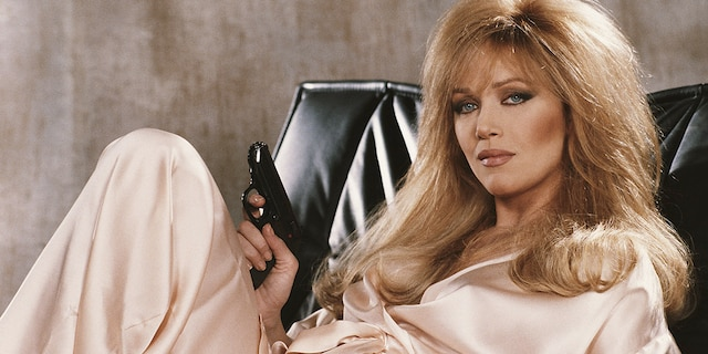 Tanya Roberts stars as Stacey Sutton in the James Bond film 'A View To A Kill.' She was also known for roles in 'Charlie's Angels' and 'That '70s Show.' (Photo by Keith Hamshere/Getty Images)