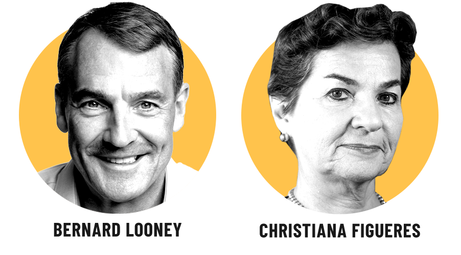 Perspectives Bernard Looney and Christiana Figueres