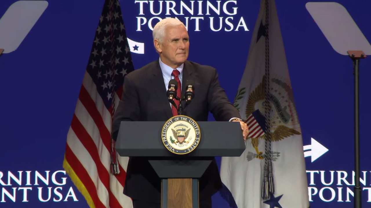 Pence urges activists to 'stay in the fight for election integrity'