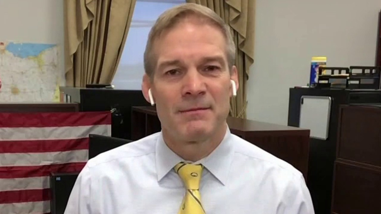 Rep. Jordan on objecting to certifying election results: 'This is about defending the Constitution'