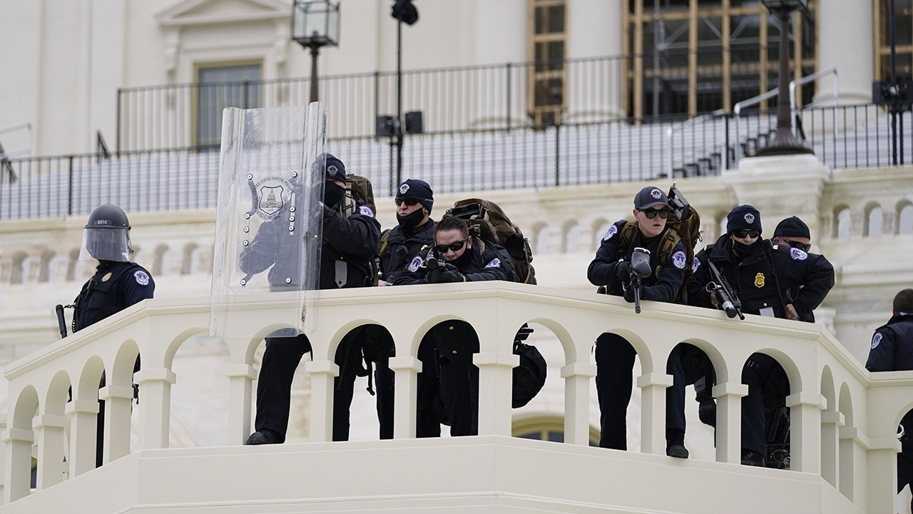 US Capitol complex locked down as protests grow