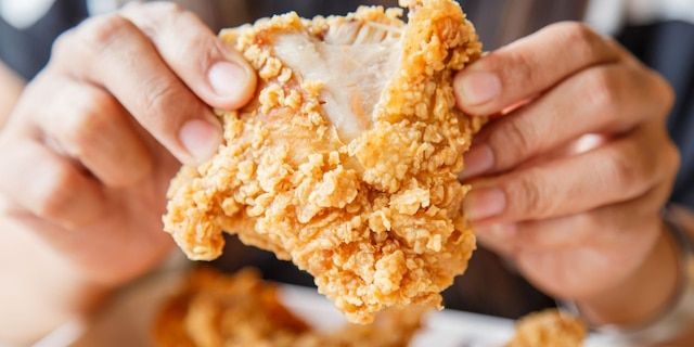Kentucky Fried Chicken is said to be the most popular fried chicken chain in the U.S. (iStock)