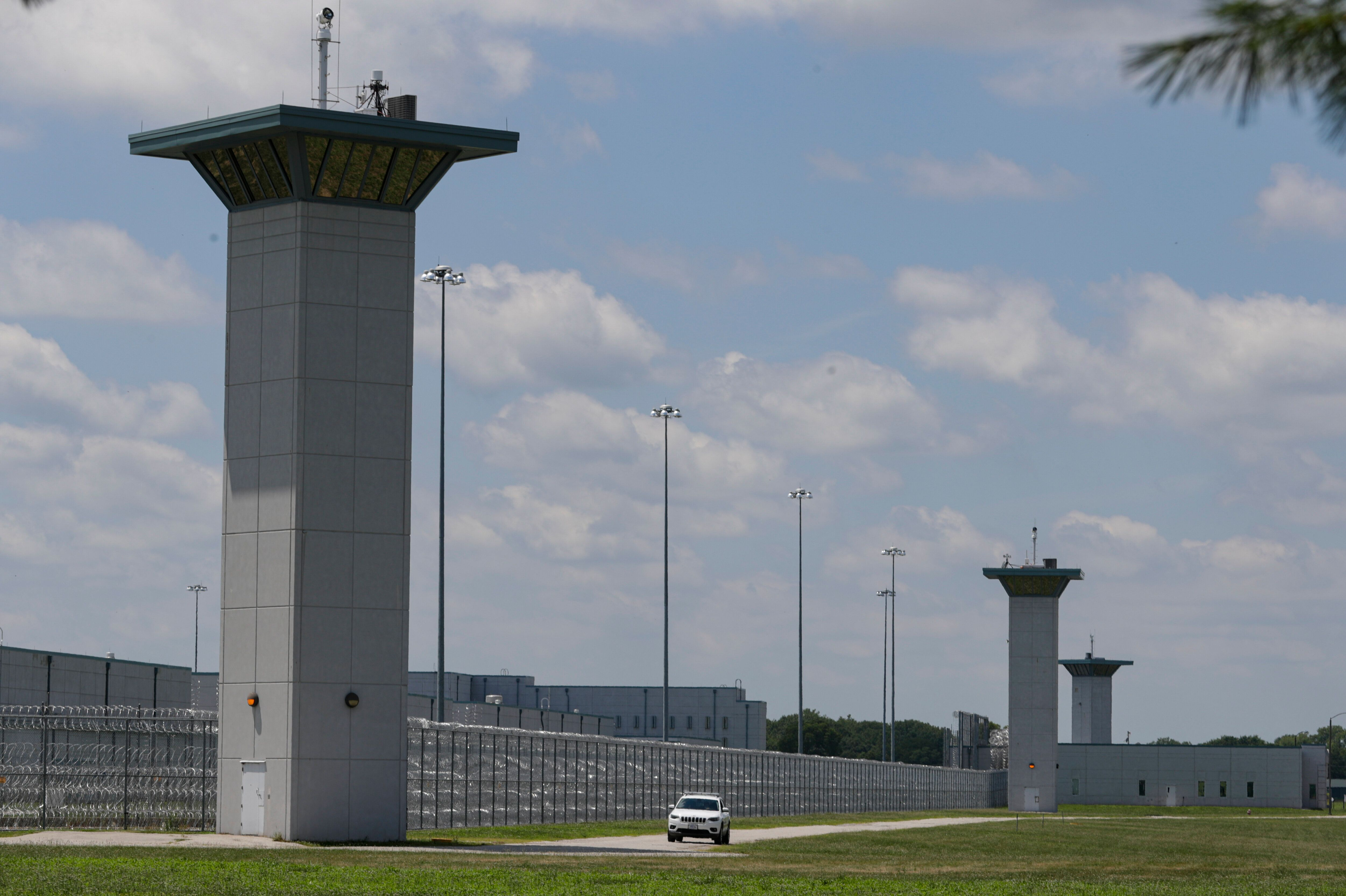 The federal prison complex in Terre Haute, Indiana, where federal executions take place.