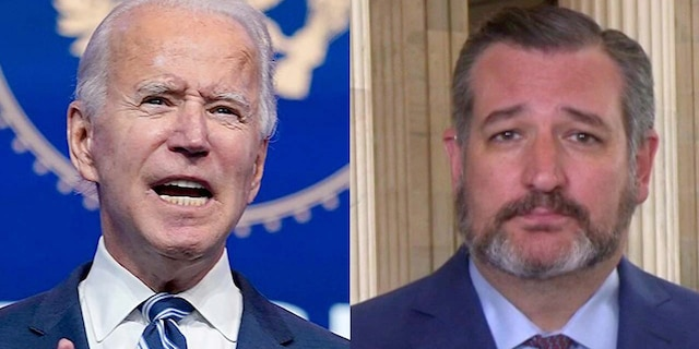 "Joe Biden used ""vicious partisan rhetoric,"" Ted Cruz alleged Friday."