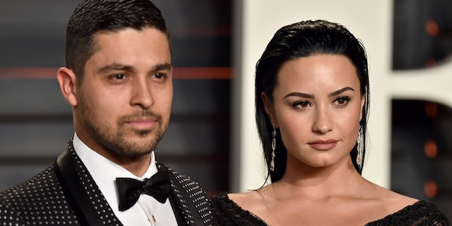 Wilmer Valderrama (left) and Demi Lovato (right) dated on-and-off for six years. (Photo by Axelle/Bauer-Griffin/FilmMagic)