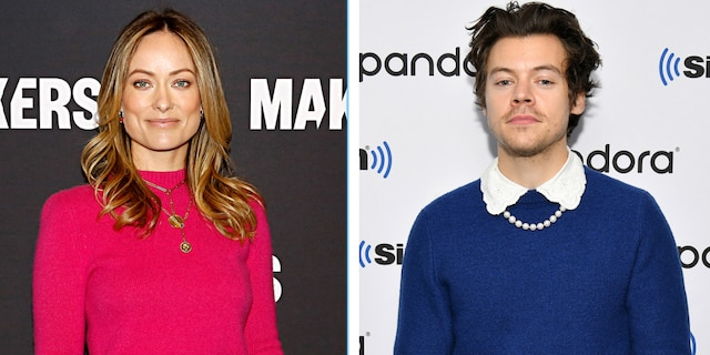 'Don't Worry Darling' stars Olivia Wilde (left) and Harry Styles (right) are reportedly dating.