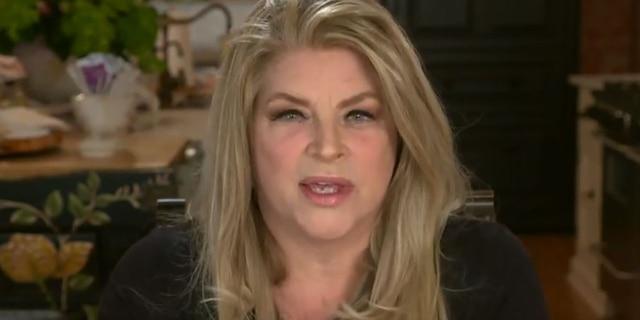 """Kirstie Alley speaks on """"Hannity"""" in October."""