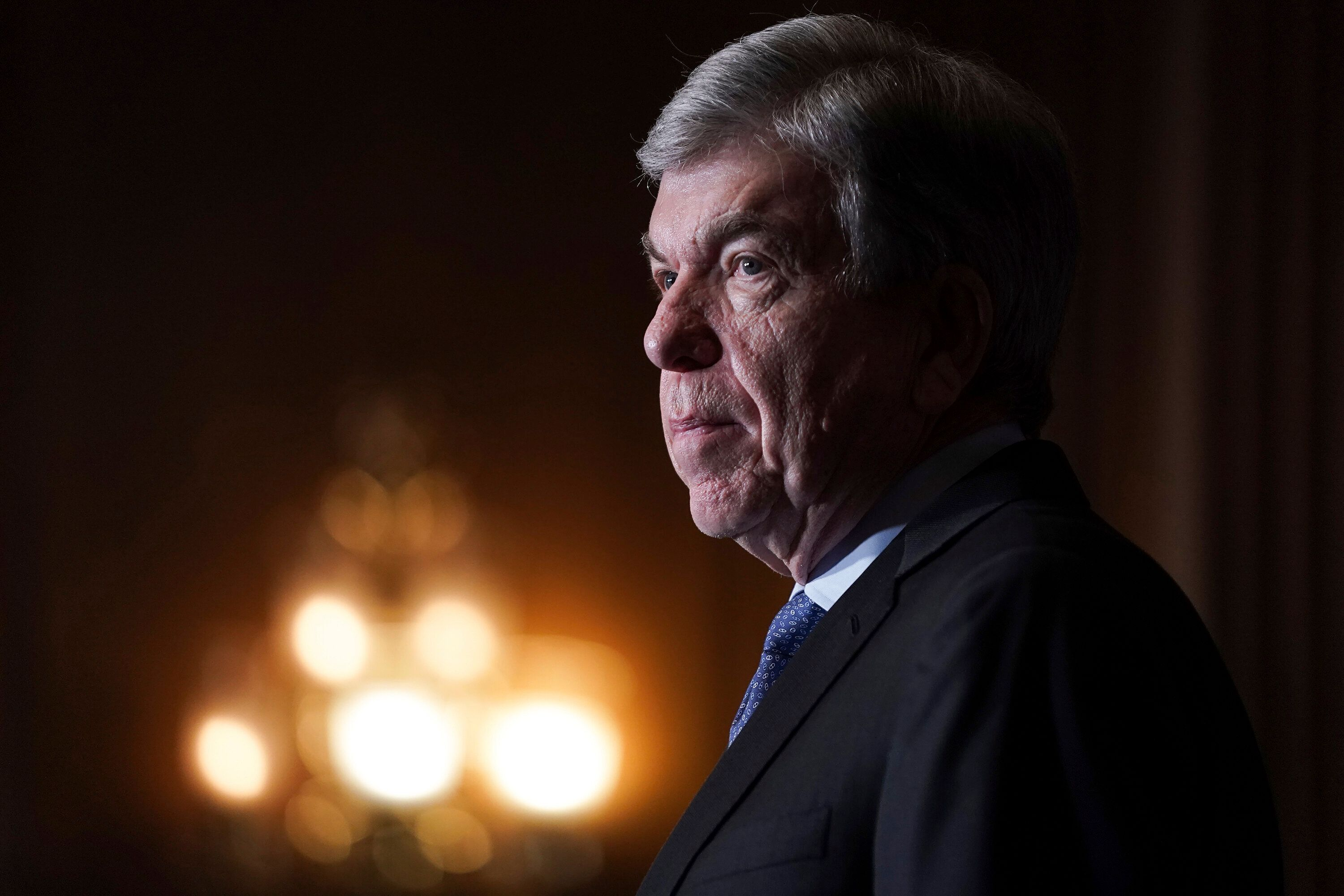 """Sen. Roy Blunt said Trump's call for his supporters to march to the U.S. Capitol on Wednesday was """"clearly reckless"""" but said"""
