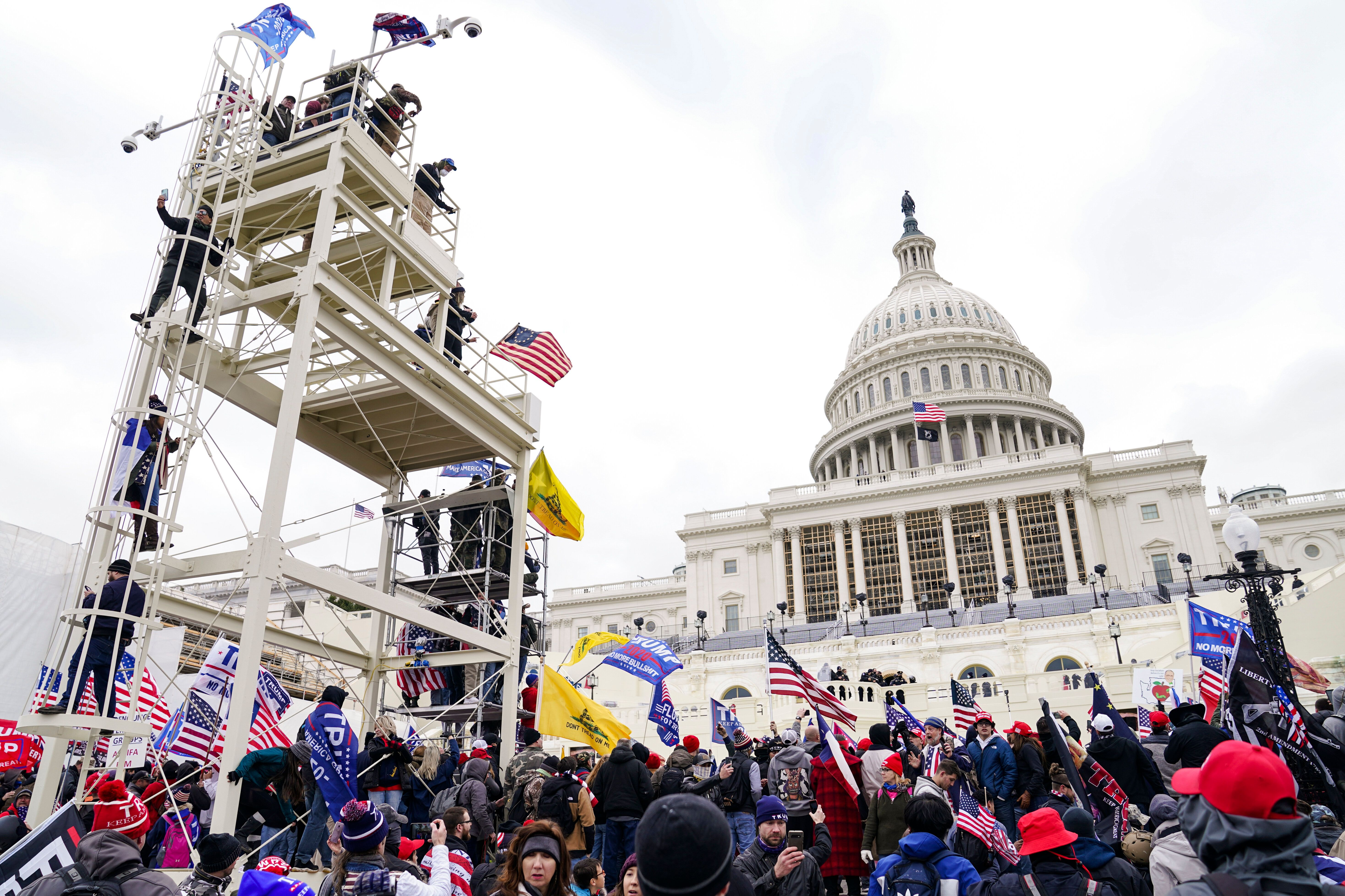 Even before rioters stormed the U.S. Capitol last week, the FBI had begun warning local authorities that violent outbreaks co