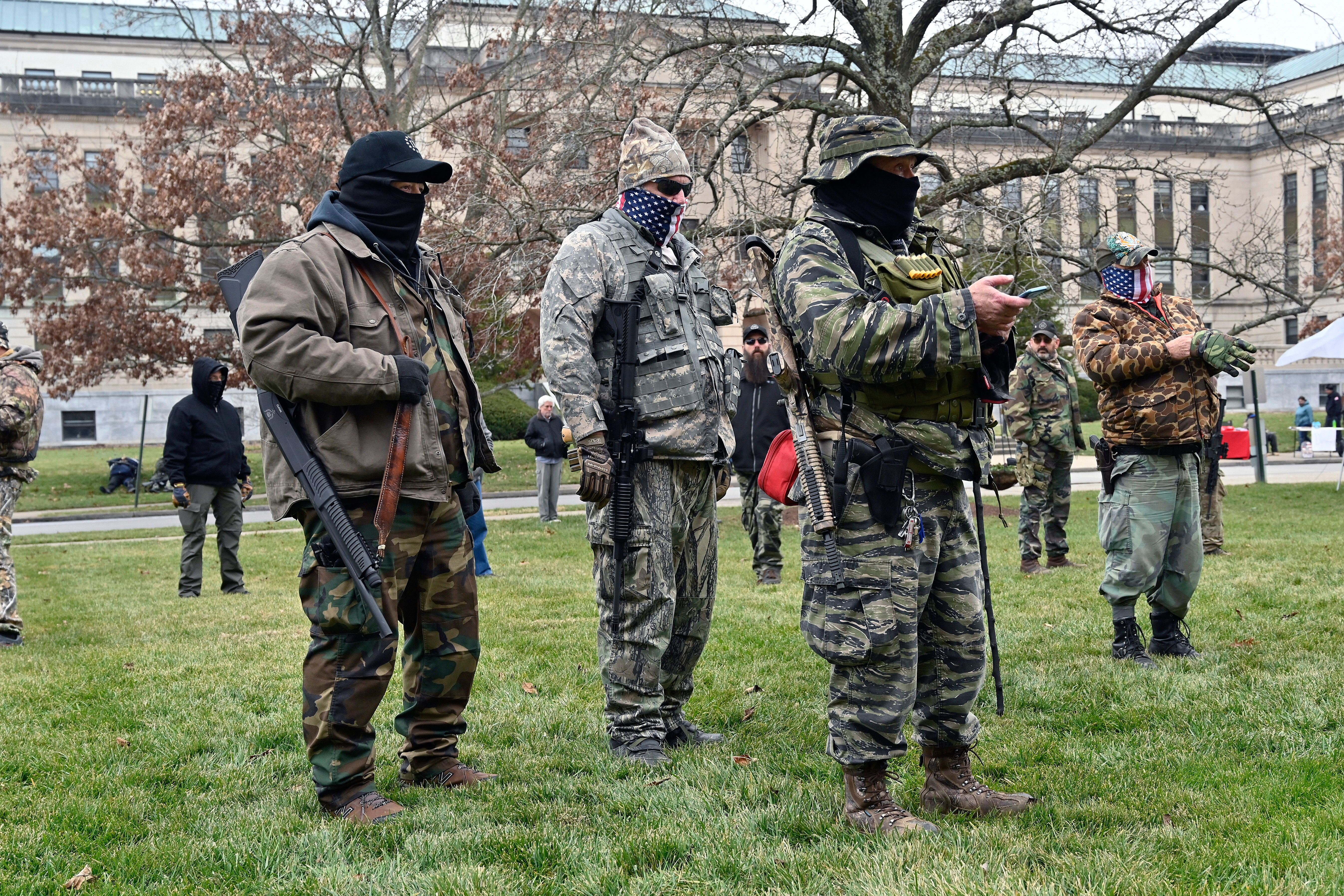 Kentucky lawmakers reported seeing more robust security in place after the Capitol riots in Washington. An armed protest took