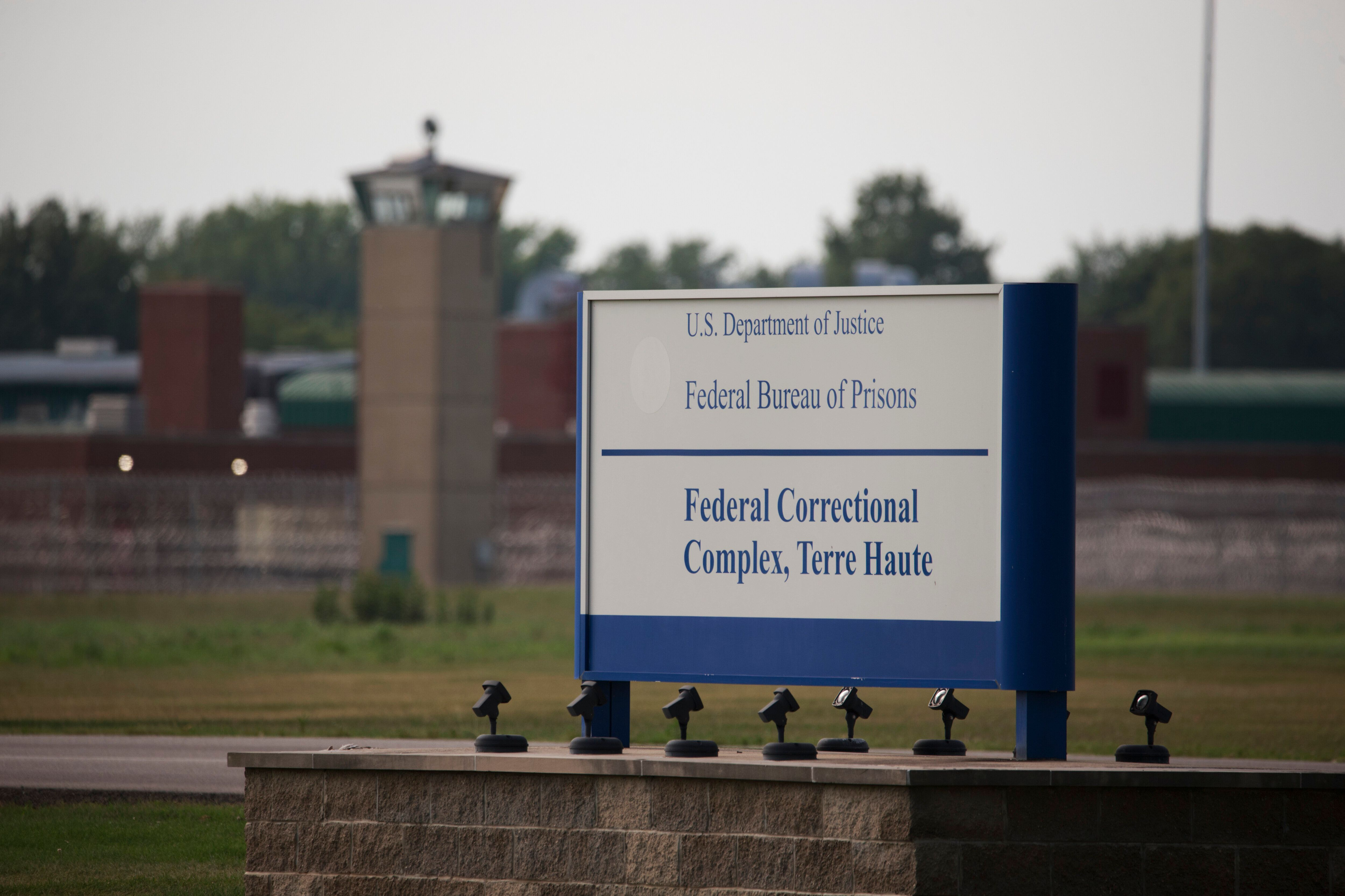 The Terre Haute Federal Correctional Complex is where federal executions are carried out.