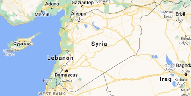 Syria's state news agency SANA said the strikes hit areas in and near the towns of Deir el-Zour, Mayadeen, and Boukamal along the border with Iraq