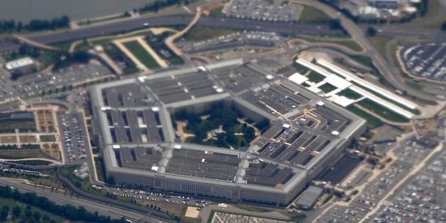 The Pentagon, headquarters of the Defense Department.