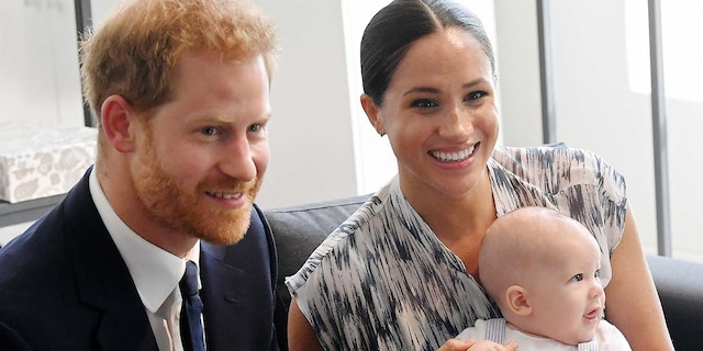 Prince Harry and his wife Meghan Markle currently reside in California with their son Archie.