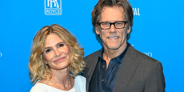 (L-R) Kyra Sedgwick and Kevin Bacon have been married for 32 years.