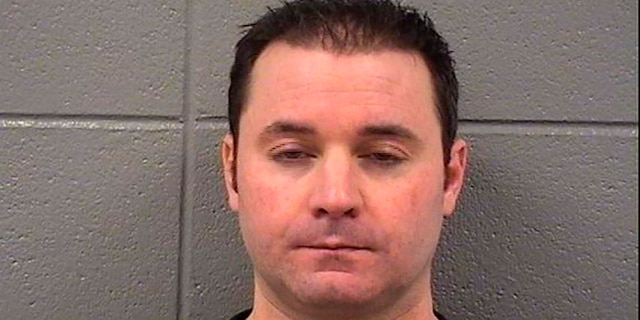 This 2014 booking photo provided by the Cook County Sheriff's Office, in Chicago, shows Louis Capriotti. (Cook County Sheriff's Office via AP)