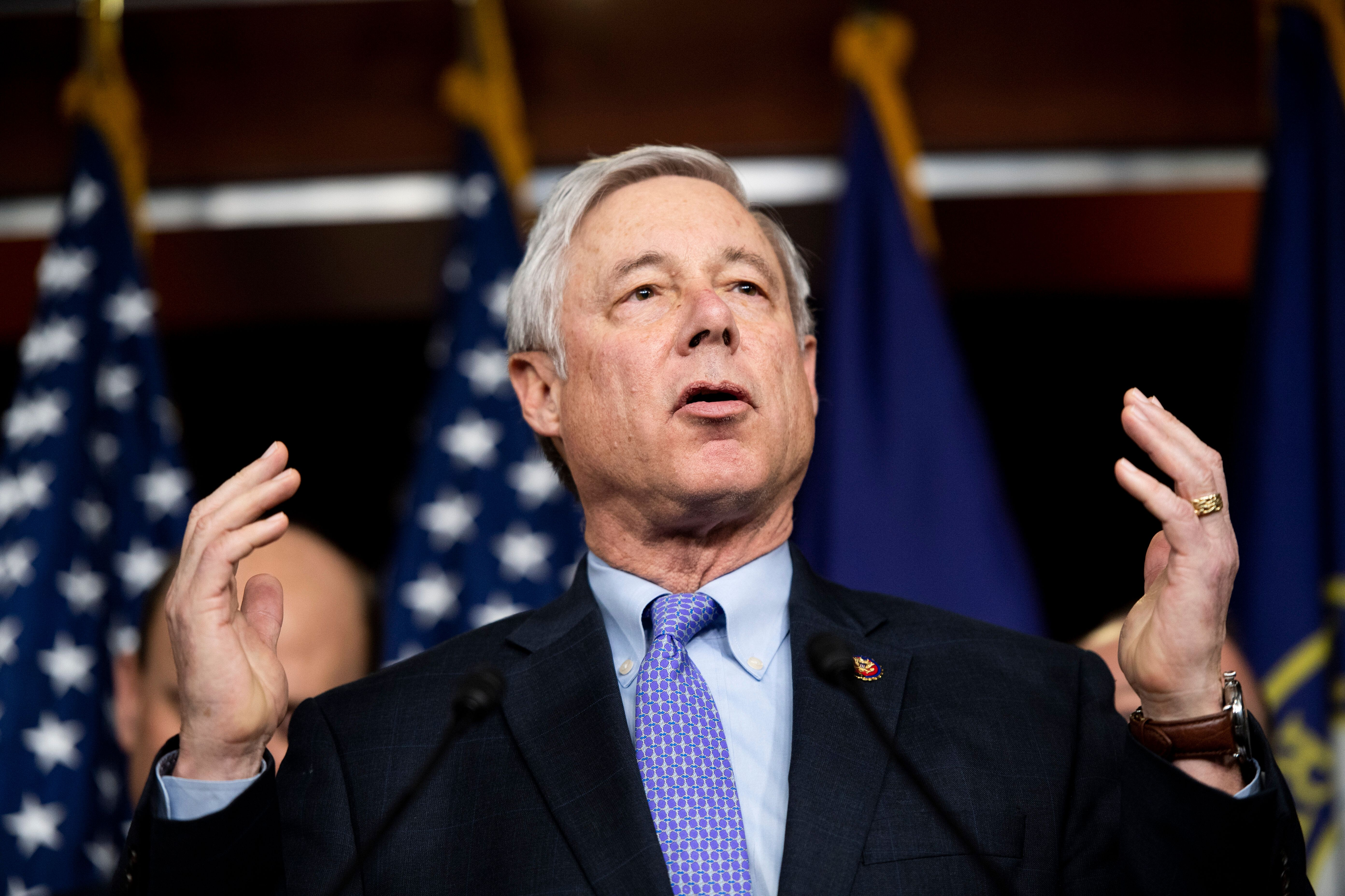 """""""It is time to say: Enough is enough,"""" said Rep. Fred Upton (R-Mich)."""