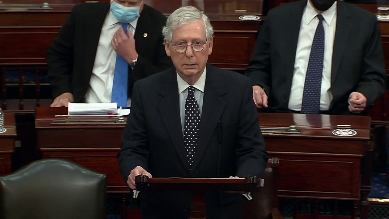 McConnell: 'The US Senate will not be intimidated'