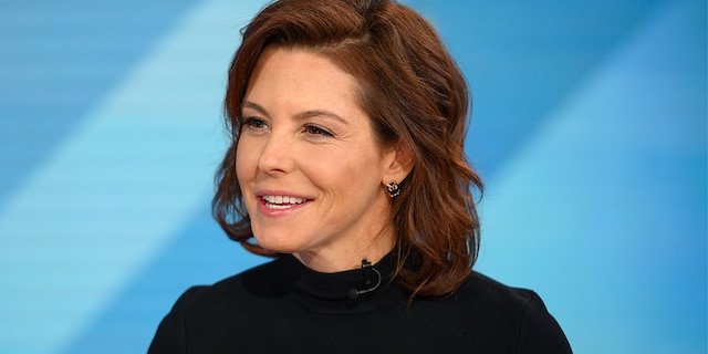 """NBC anchor Stephanie Ruhle is being slammed as a """"Democratic Party hack"""" after a softball interview with one of President-elect Joe Biden's advisors who thanked her for pushing his agenda. -- (Photo by: Nathan Congleton/NBC/NBCU Photo Bank via Getty Images)"""