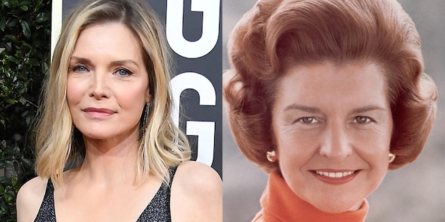 Showtime has tapped Michelle Pfeiffer to star as Betty Ford in its upcoming anthology series, 'The First Lady.' Pfeiffer joins the previously announced Viola Davis, who is playing Michelle Obama, on the show.
