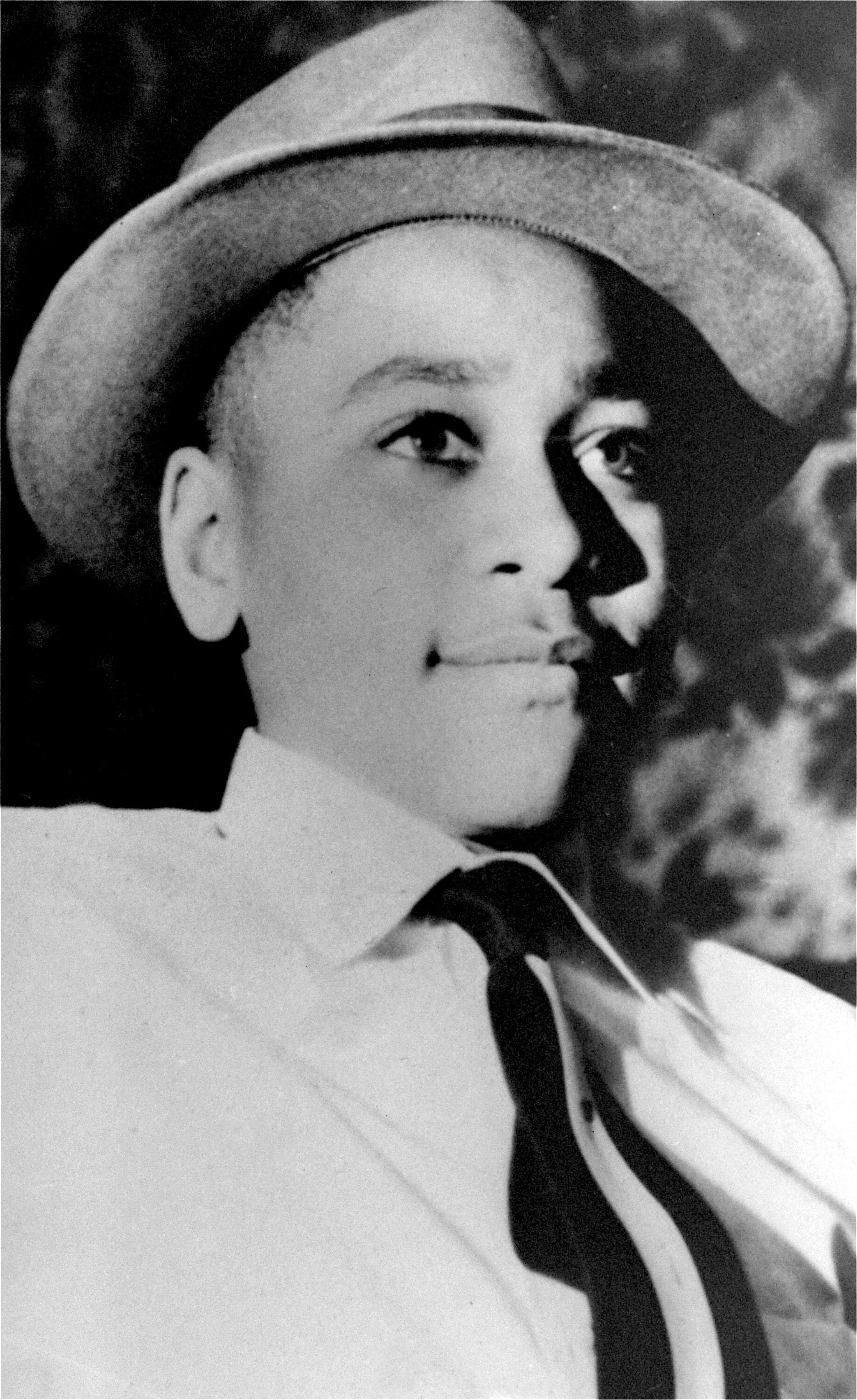 Emmett Till was visiting an uncle in Mississippi when he was kidnapped, tortured and then murdered after being accused of whi